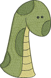 Dino Dad embroidery design