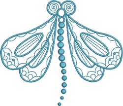 Dragonfly Large embroidery design