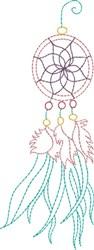 Fancy Dream Catcher embroidery design