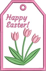 ITH Easter Gift Card Holder 1 embroidery design