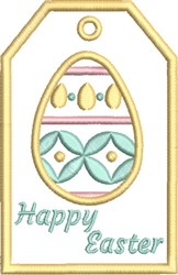 ITH Easter Gift Card Holder 4 embroidery design