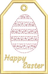 ITH Easter Gift Card Holder 5 embroidery design