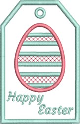 ITH Easter Gift Card Holder 6 embroidery design