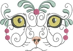 Exotic Baby Kitty embroidery design