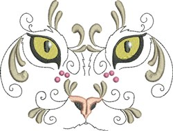 Exotic Large Cat embroidery design
