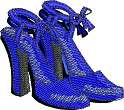 Evening Heels embroidery design