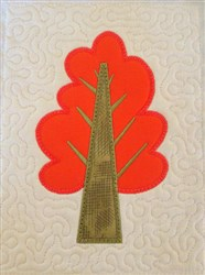 ITH Tree Quilt  embroidery design