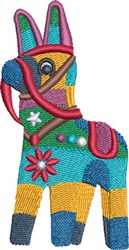 Fiesta Pinata embroidery design