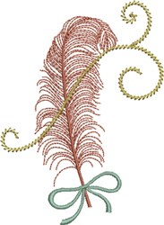 Feather Fest embroidery design