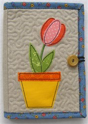 Folded E-reader Cover 1 embroidery design