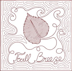 ITH Fall Quilt Block 11 embroidery design