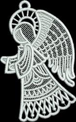 FSL Small Angel Profile embroidery design