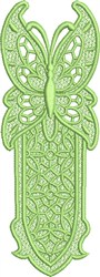 FSL Butterfly Bookmark F embroidery design