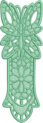 FSL Butterfly Bookmark I embroidery design
