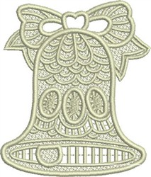 Lace Bell embroidery design