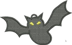 FSL Bat embroidery design