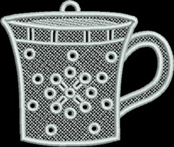FSL Coffee Mug embroidery design