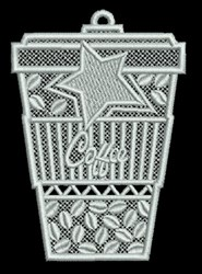 FSL Coffee Container embroidery design