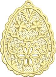 Easter Egg FSL embroidery design