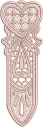 FSL Heart Bookmark 5 embroidery design