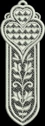 FSL Heart Bookmark 7 embroidery design