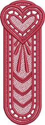 FSL Heart Bookmark 9 embroidery design