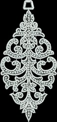 FSL Beaded Spire Ornament embroidery design