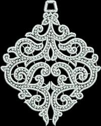 FSL Elegant Lace Ornament embroidery design