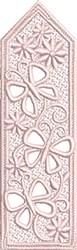 FSL Butterfly Bookmark embroidery design