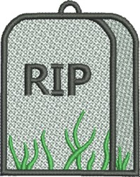 FSL Tombstone embroidery design