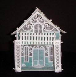 FSL & Applique Victorian House embroidery design