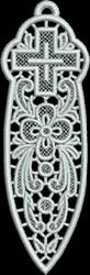 FSL Bible Bookmark embroidery design