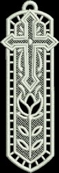 FSL Holy Bookmark embroidery design