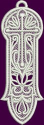 FSL Lace Bookmark embroidery design