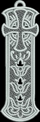 FSL Cathedral Bookmark embroidery design