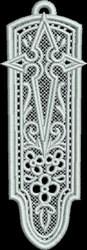 FSL Church Bookmark embroidery design