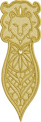 FSL Leo Bookmark embroidery design