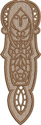 FSL Virgo Bookmark embroidery design