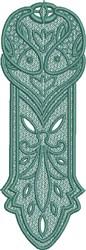 FSL Pisces Bookmark embroidery design