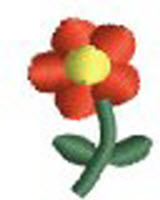 Tiny Flower embroidery design