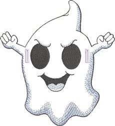 Felt Ghostee 1 embroidery design
