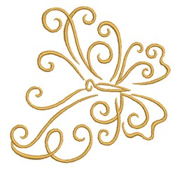Glorious Butterfly embroidery design