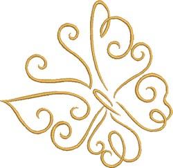 Mariposa embroidery design