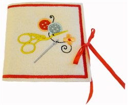ITH Grandmothers Needle Book embroidery design