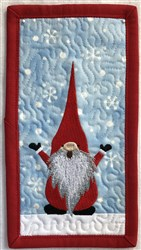 ITH Gnome Quilt Blk 3 embroidery design