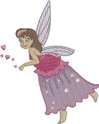 Plum Gracious Fairy embroidery design