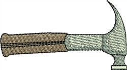 Hammer embroidery design