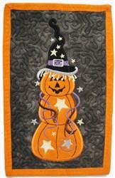 ITH Pumpkin Mug Mat embroidery design