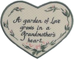 Grandmother Applique embroidery design