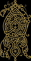 Royal Fretwork embroidery design